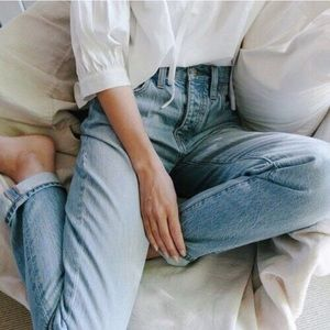 Madewell Fitzgerald Summer Perfect Jean
